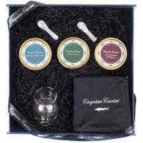Boxed Caspian Caviar Trilogy