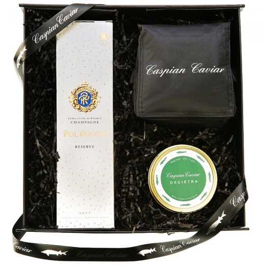 Caspian Caviar Champagne & Caviar