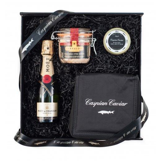 Caspian Caviar Fizz & Foie Gras Gift Set