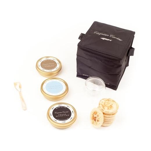 Caspian Caviar Golden Caviar Trilogy 125g