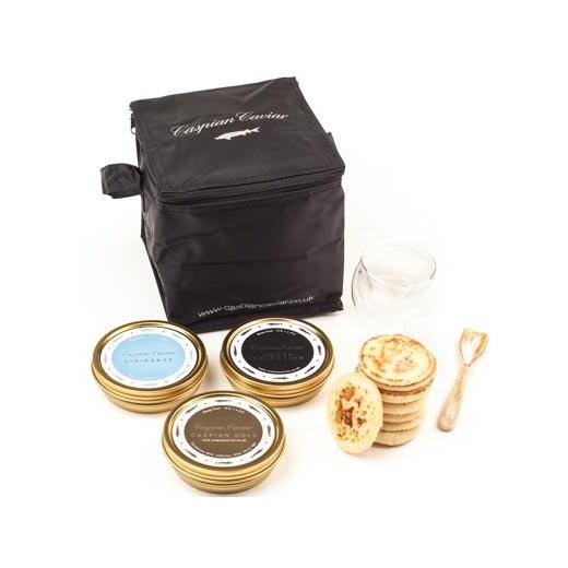 Caspian Caviar Golden Caviar Trilogy 250g
