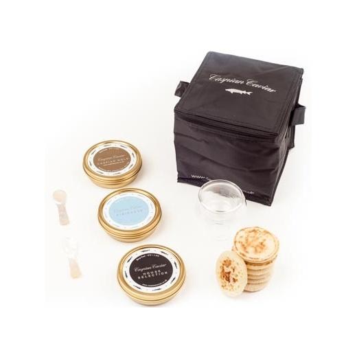 Caspian Caviar Golden Caviar Trilogy 50g