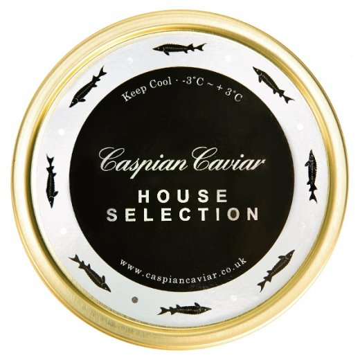 Caspian Caviar House Selection Caviar 50g