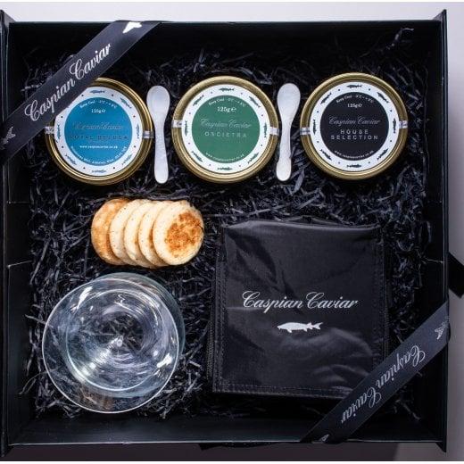 Caspian Caviar House Trilogy 125g (Boxed)
