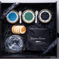 Caspian Caviar House Trilogy 250g (Boxed)