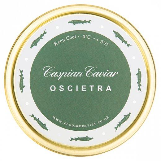 Caspian Caviar Oscietra Caviar 50g