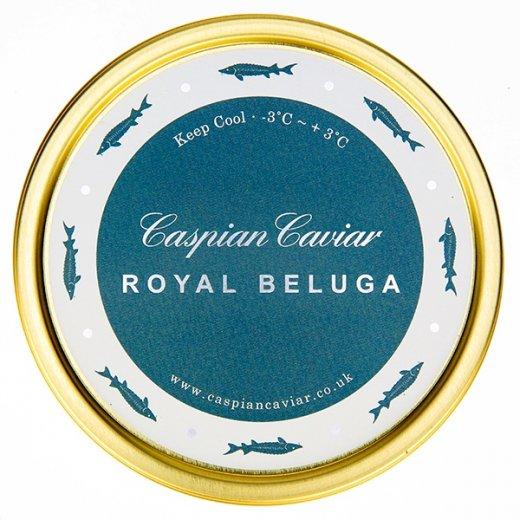 Caspian Caviar Royal Beluga Caviar 125g