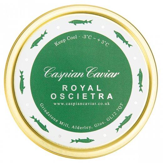 Caspian Caviar Royal Oscietra Caviar 125g