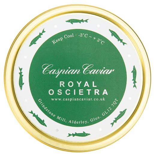 Caspian Caviar Royal Oscietra Caviar 50g