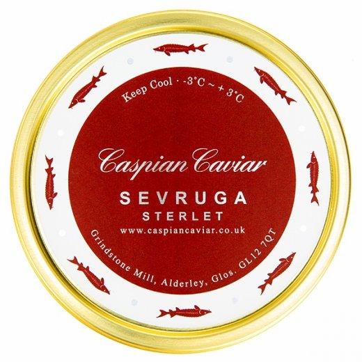 Caspian Caviar Sevruga Caviar 125g