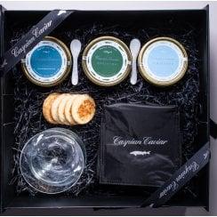 Caspian Caviar Trilogy 125g (Boxed)