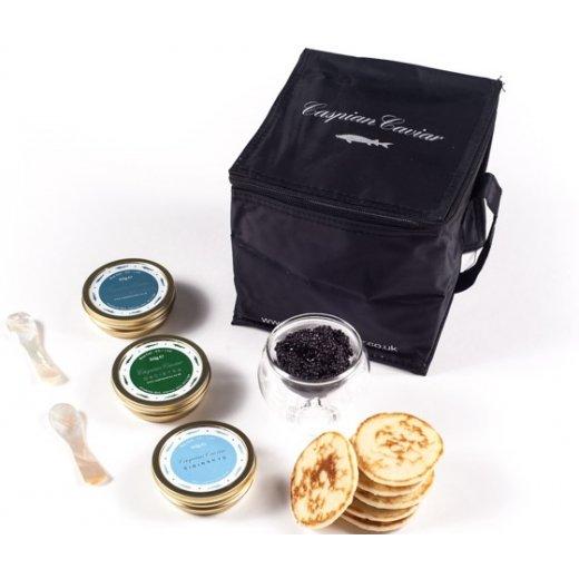 Caspian Caviar Trilogy 50g