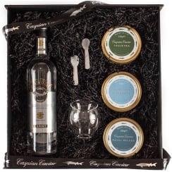 Caspian Caviar Trio Gift Set