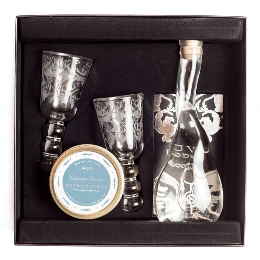 Caspian Caviar U'Luvka and Beluga Caviar Gift Box 30g or 50g