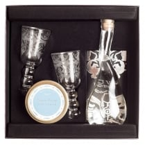 Vodka and Sibirskye Caviar Gift Box 30g or 50g